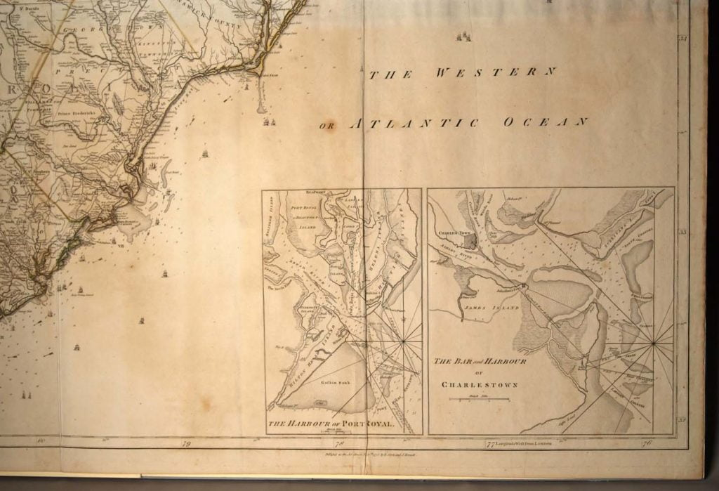 1775 Mousons Map
