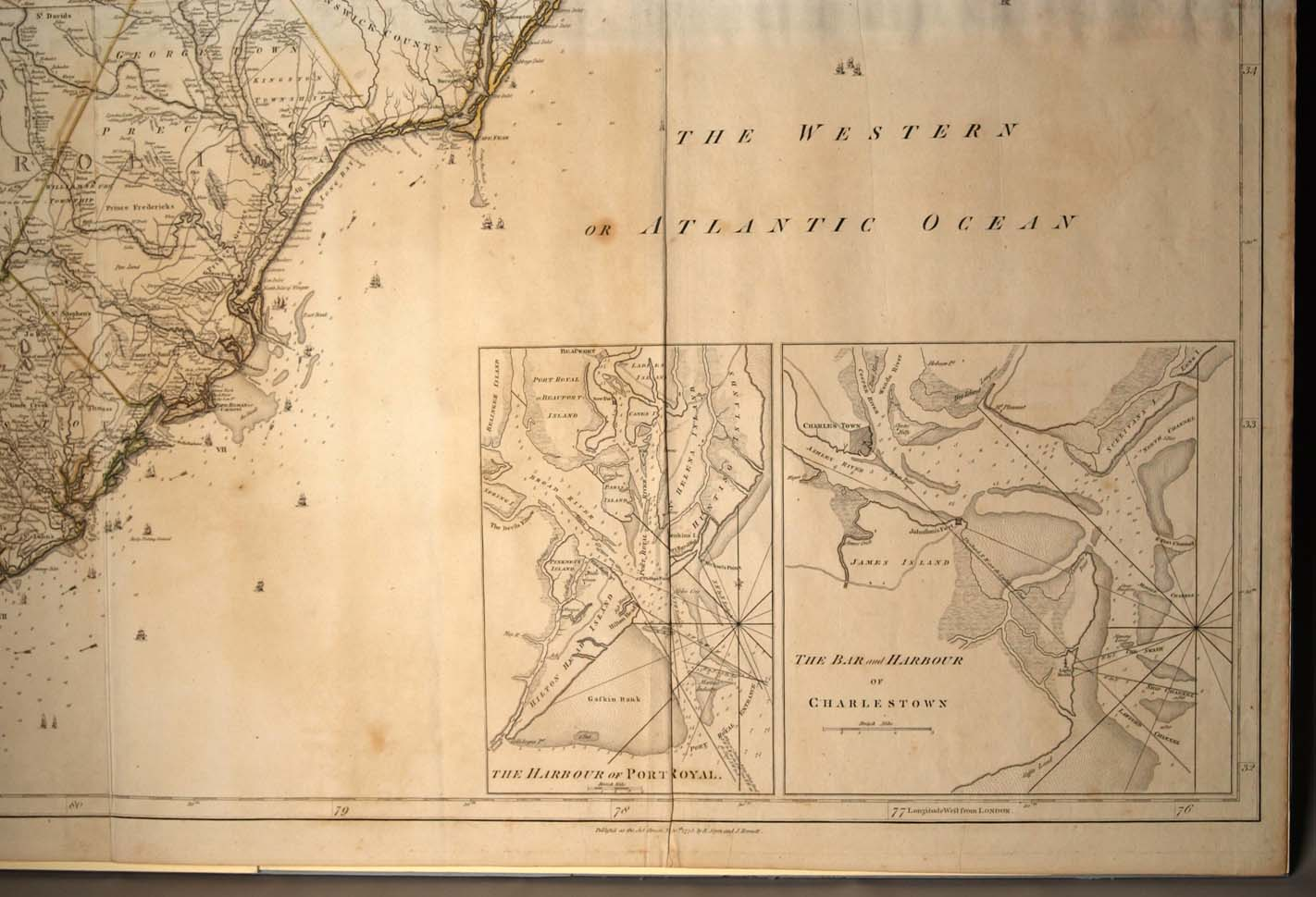 1775 Mousons Map