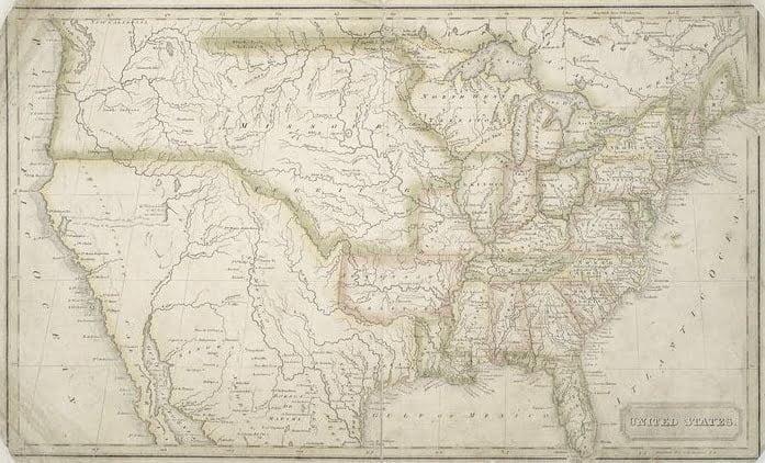 1824 Map by Jebediah Morse