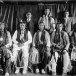 Cheyenne Men in 1909