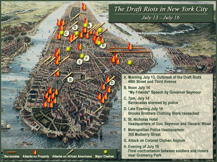 Draft Riots Map