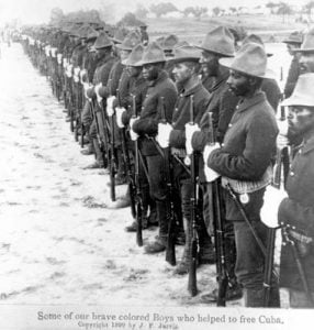 Black Soldiers in the Spanish American War