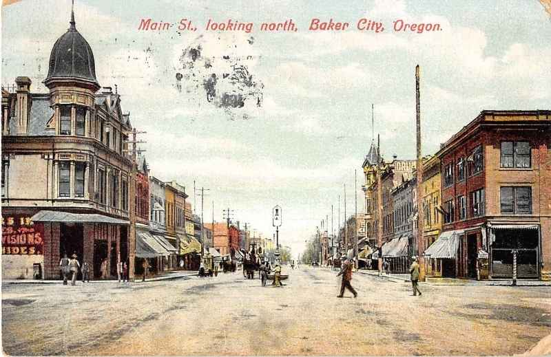 Main Street looking north Baker City Oregon
