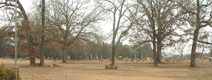 North New Hope Cemetery in Dover, Arkansas