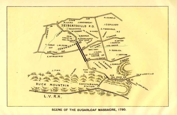 Scene of the Sugarloaf Massacre - 1780