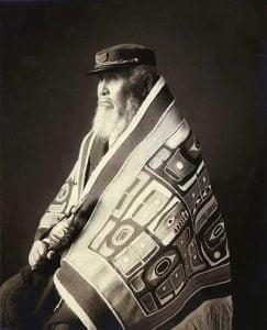 Chief Anotklosh of the Taku nation