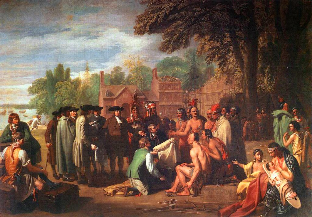Treaty of Penn with Indians