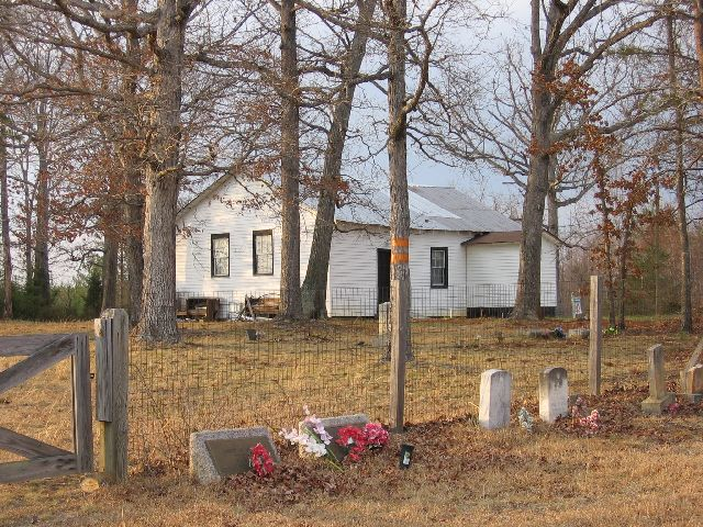 Cladstone Church of God and Cemetery