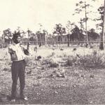 Toshkachîto Demonstrating Usage of a Blowgun