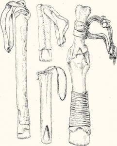 Fig. 22. Fleshing Tools.