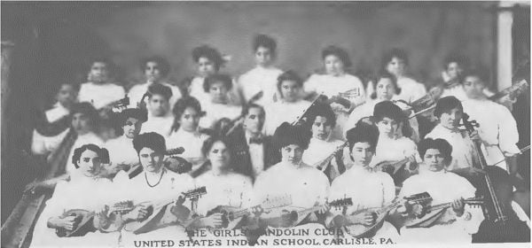 Girls Choir Carlisle Indian School