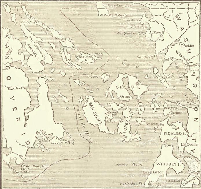 Haro Archipelago Map