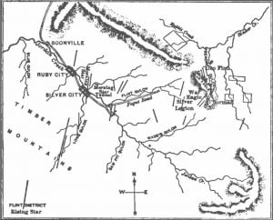 Map of Jordan Creek
