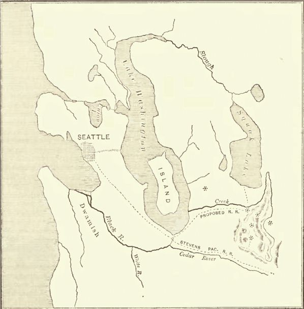 Map of the King County Coal-Fields