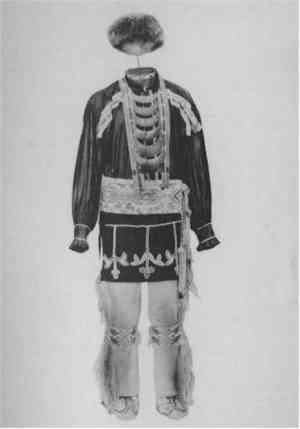 Potawatomi Man's Costume