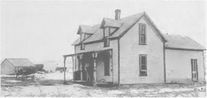 Omaha Indian Home Homes belong to ex-students, living on the Omaha Reservation