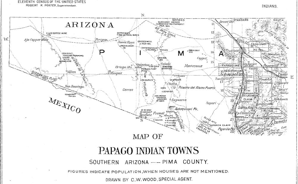 Excellent Papago Tribe Access Genealogy Beutiful Home Inspiration Ommitmahrainfo