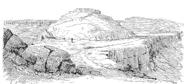 Shipaulavi, second Moqui mesa, Arizona