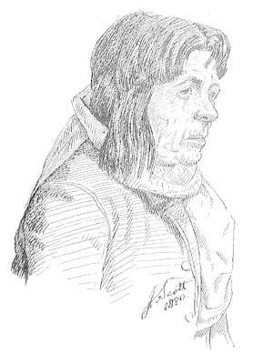 NA-JI (hah-hee) citizen of Mishongnavi, second mesa, Arizona, 1890