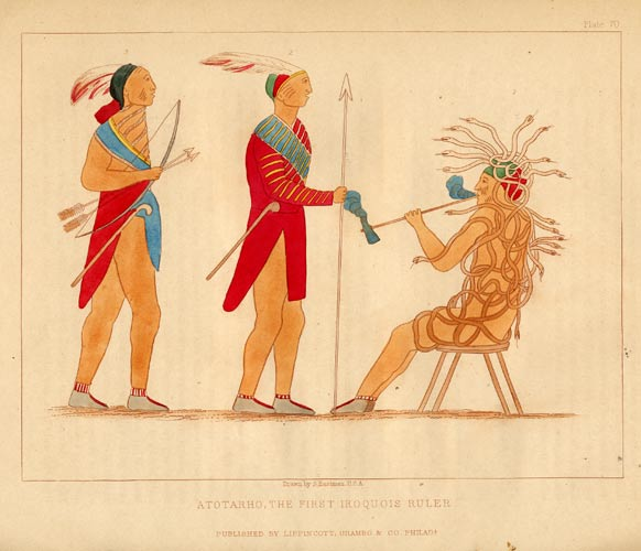 Atotarho, the First Iroquois Ruler - Plate 70