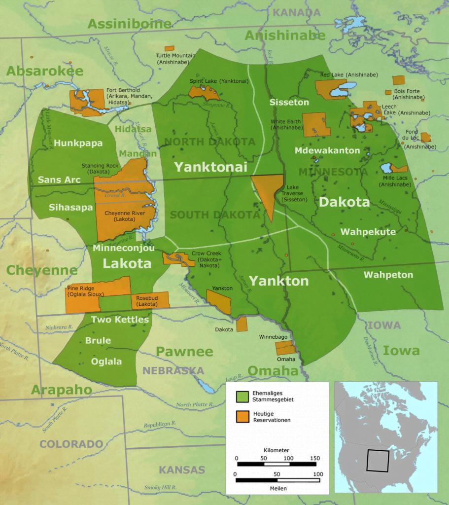 Sioux Lands