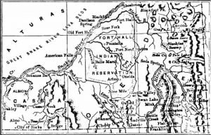 Map of Southeastern Idaho