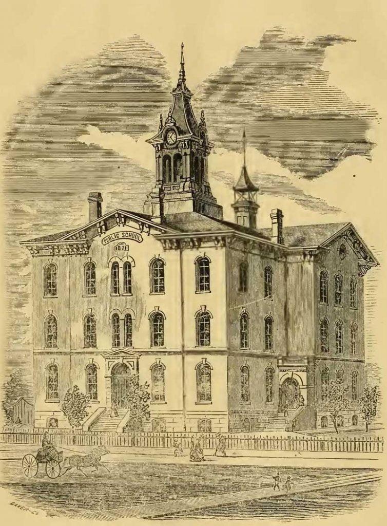 Tuscola Public School Building