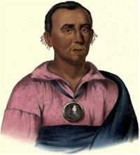 Watchemonne, The Orator, Third Ioway Chief