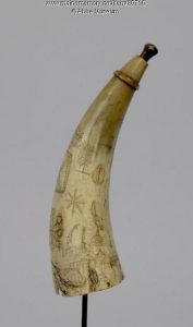 Chief Orono's Powder Horn
