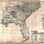A General Map of the Southern Colonies by R. Romane, 1776