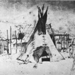 """Kaposia, June 19th, 1851"" F. B. Mayer"