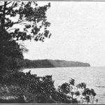 Northwest shore of Mille Lac, 1900. Site of an ancient Sioux settlement