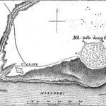 Plan of the large Mandan Village, 1833