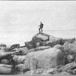 The sacred island in the southern part of Mille Lac, May 1900