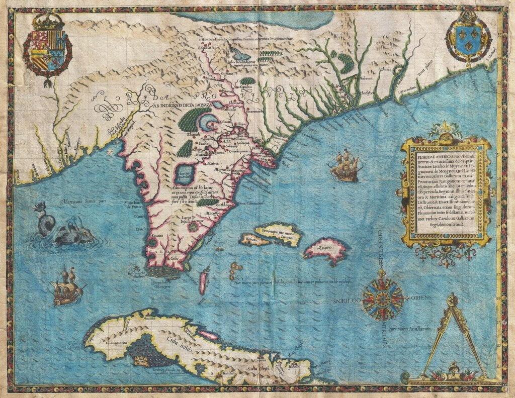 De Brys Map of 1591