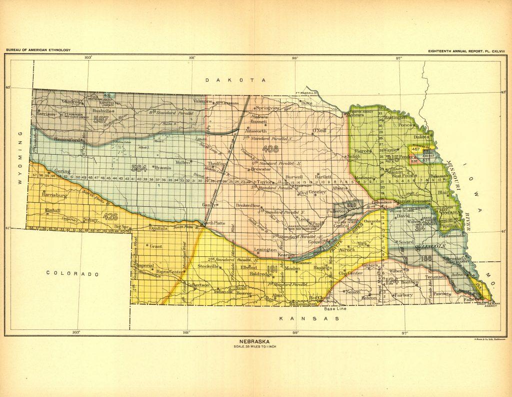Nebraska Land Cessions