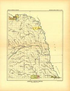 East Nebraska Land Cessions