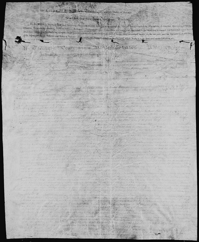 Treaty of Greenville 1795