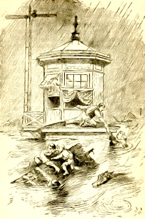 Rescues at the signal tower