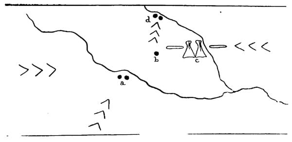 Fig. 7. Map recording a Battle.