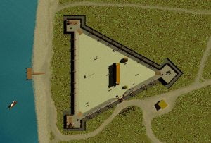 Charlesfort - Vector Image 1