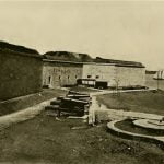 Harbor side, Fort Independence, Boston Massachusetts