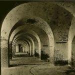 The deserted Casements of Fort Pulaski, near Savannah, Georgia