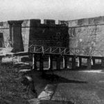 Moat and Entrance, Fort Marion, St. Augustine, Florida
