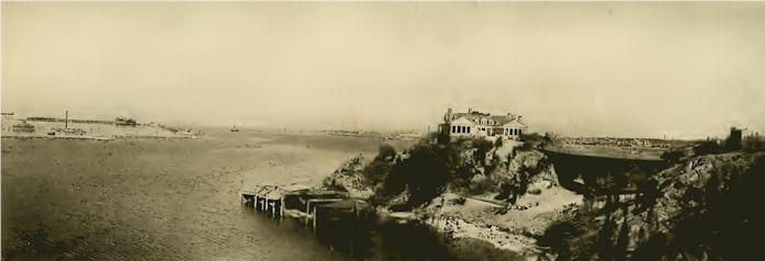 Panorama of Newport Harbor