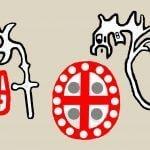 Quetzalcoatl glyphs