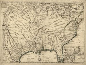 1718 De Lisle Map