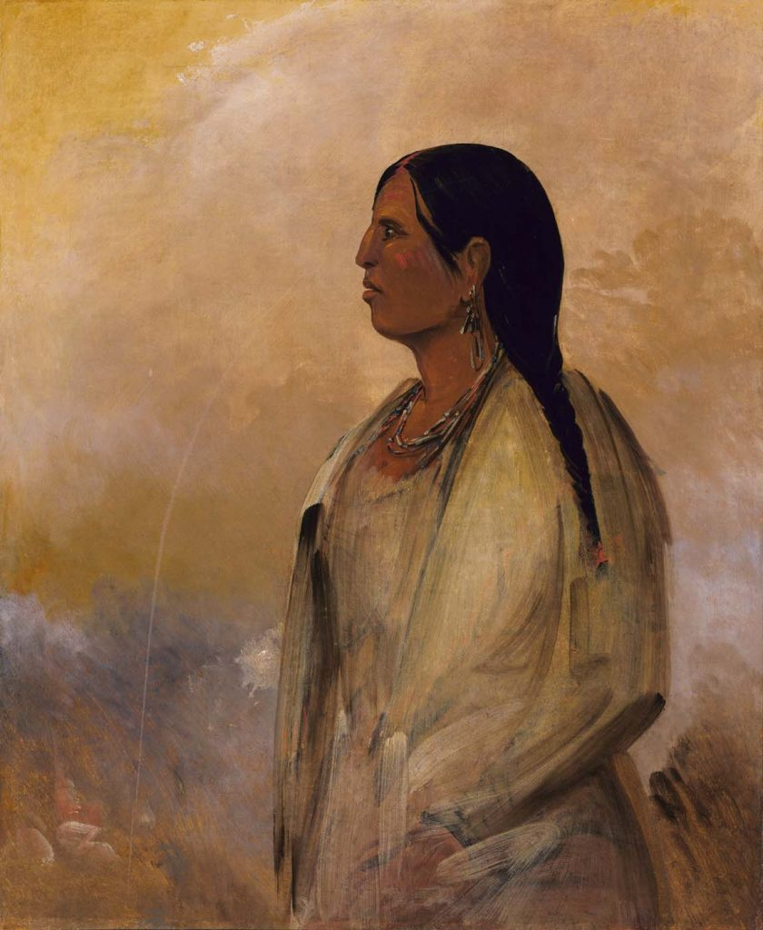 A Choctaw Woman, George Catlin, 1834