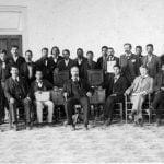 Choctaw Nation senate in 1898. Oklahoma Historical Society
