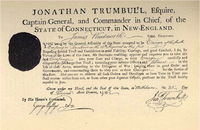 Military Enlistment of James WoodworthMilitary Enlistment of James Woodworth